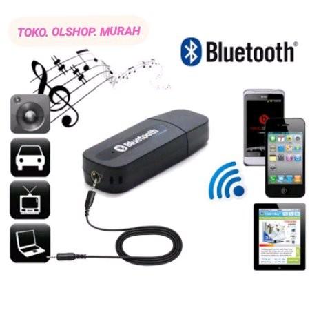 Foto Produk Receiver Bluetooth Music Mobil Speaker Audio Musik Wireless dari reinastore915