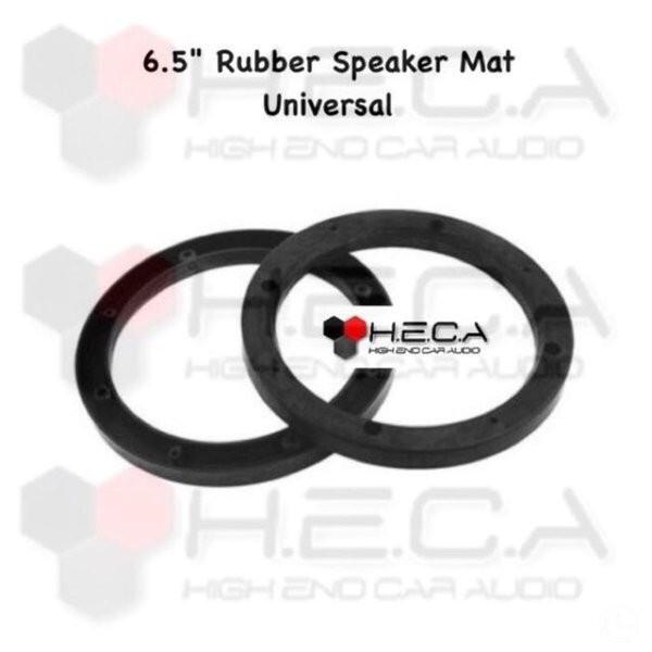 Foto Produk Unik Ring Karet Rubber Mat Speaker 6 5inch Dudukan Speaker UNIVERSAL dari reinastore915