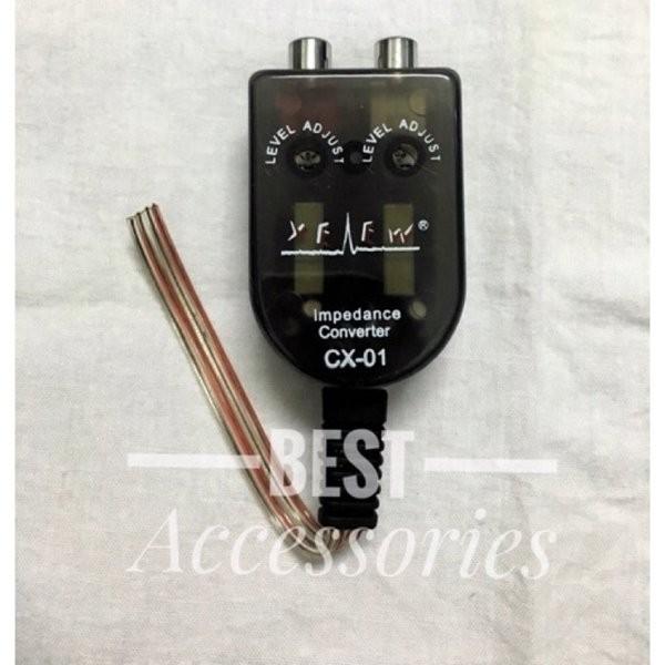 Foto Produk Diskon Konventer RCA audio speaker mobil CC dari reinastore915