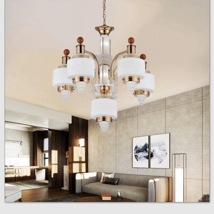 Jual Lampu Hias Gantung Dekorasi Ruang Tamu Minimalis 60270/5+1 - Jakarta  Barat - Office D Equipments | Tokopedia