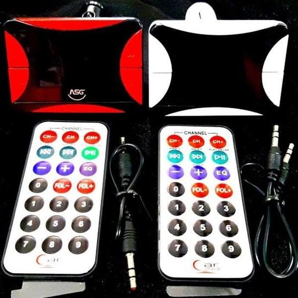 Foto Produk BL9042020 ASG03 FM Transmitter Modulator Mp3 Player Musik Radio mobi dari reinastore915