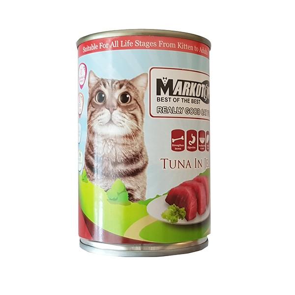 Foto Produk markotops 400 gr cat tuna in jelly dari F.J. Pet Shop