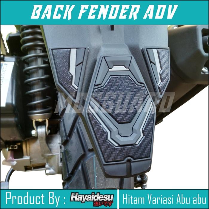 Foto Produk Jual Back Fender ADV 150/Aksesoris Honda Adv/Karet Spackbord belakang - Abu-abu dari MCSGUARD