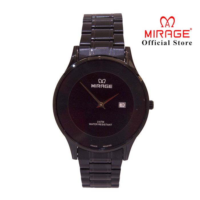 Foto Produk Jam Pria Tipis Original Mirage 8670M Full Black Official dari Mirage Watch