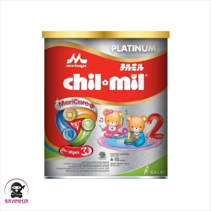 Foto Produk MORINAGA CHIL MIL Platinum Susu Formula Lanjutan Tin 400g / 400 g dari BAYININJA