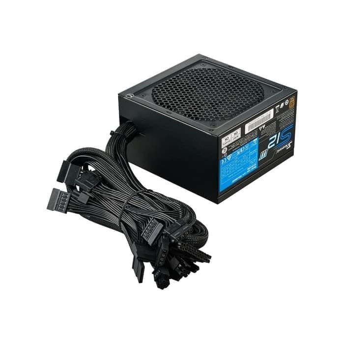 Foto Produk Seasonic S12III-500 500W - 80+ Bronze Certified Retail Box / PSU 500W dari Flazz Computer Pekanbaru