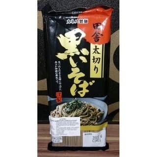 Foto Produk Kanesu Seimen Inaka Futogiri Kuroi Soba 320g / Mie kering Jepang dari Sweetams