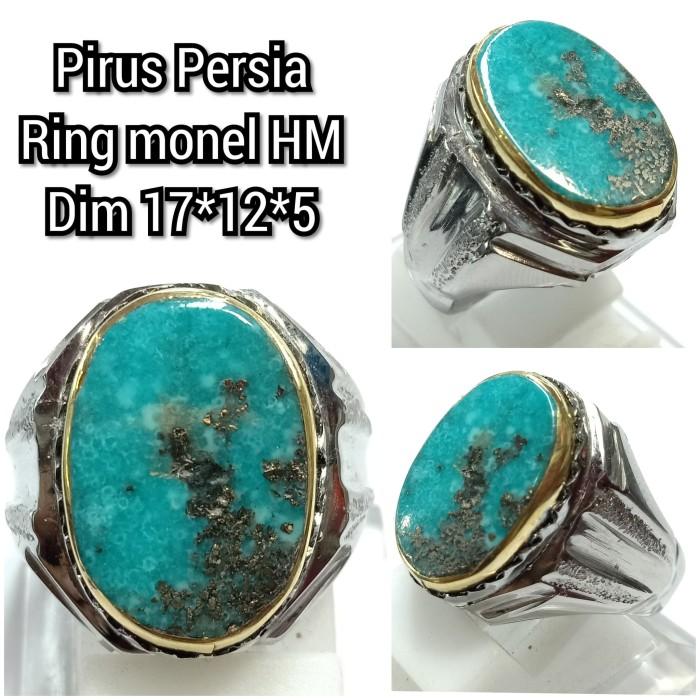 Foto Produk natural batu pirus Persia b29 dari arjuna gemstune