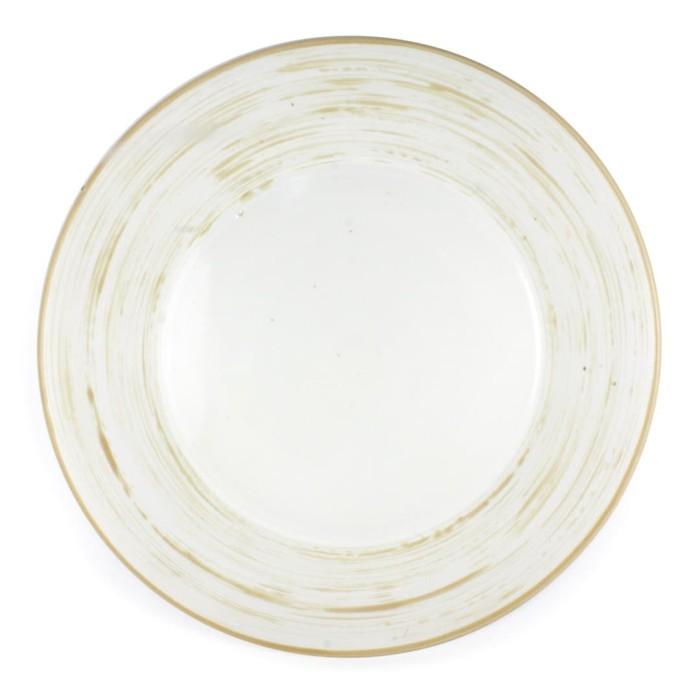 Foto Produk Artisan Ceramic | Off WWhite Scratch Side Plate | Piring Keramik dari Artisan Ceramic