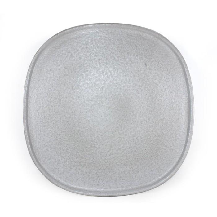 Foto Produk Artisan Ceramic | Rock Square Dinner Plate | Piring Makan Keramik dari Artisan Ceramic