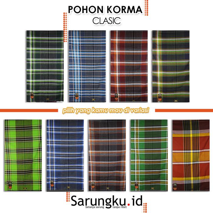 Foto Produk SARUNG POHON KORMA CLASSIC MOTIF KOMBINASI - COVER dari SarungkuID