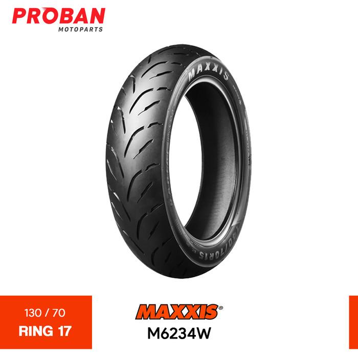 Foto Produk Ban Motor MAXXIS TL M6234W 130/70 Ring 17 Tubeless dari Proban Motoparts