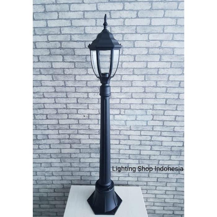 Jual L6059 Lampu Taman Stand Berdiri Waterproof Pilar Pagar Outdoor E27 Jakarta Pusat Reye Store Tokopedia