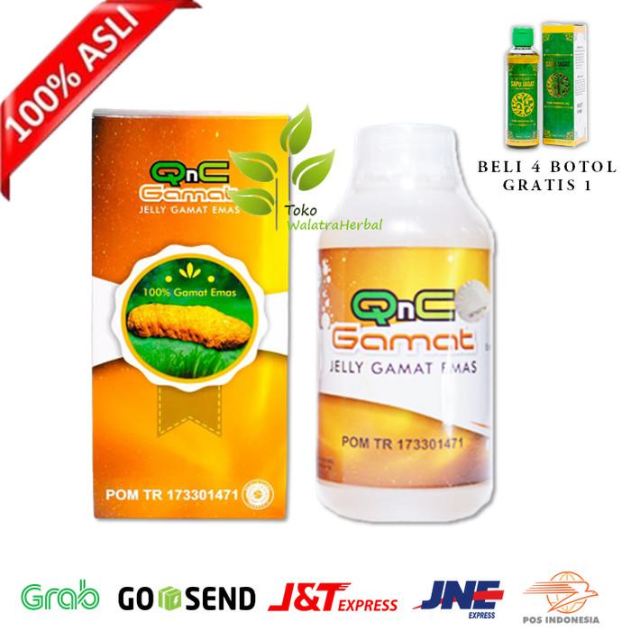 Jual Obat Herbal Polip Serviks Polip Rahim Qnc Jelly Gamat Original Kota Surabaya Toko Walatraherbal Tokopedia