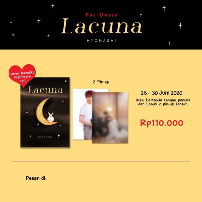 Foto Produk Lacuna - Hyonashi - Bukune dari Republik Fiksi