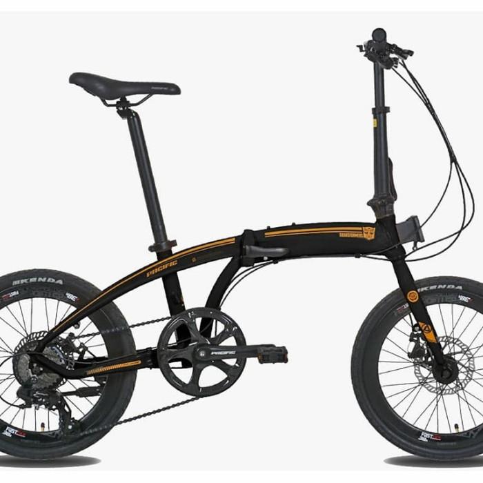 Jual Sepeda Lipat Pacific Noris 2.0 Transformers Edition