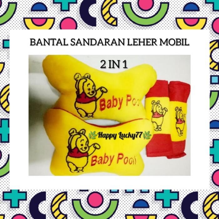 Foto Produk BANTAL SANDARAN LEHER MOBIL (2 IN 1) BABY POOH dari Happy Lucky77