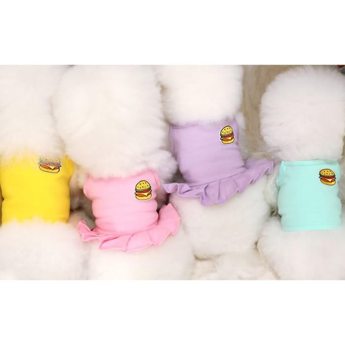 Jual Fairy Tail Burger Crop Dress Pet Dog Clothes Baju Anjing Kucing Pink Pilih Size Jakarta Barat Petworld Tokopedia