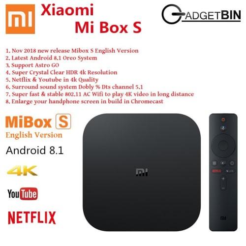 Jual New Xiaomi Mi Box 3 Mibox 3 International Version Android Tv