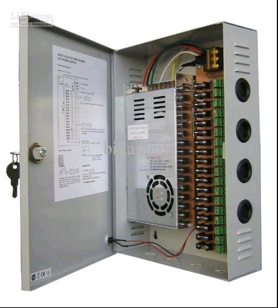 Foto Produk adaptor power suply 12volt 30A box fan led elektronik cctv suraba dari chaerulfauziyahshop
