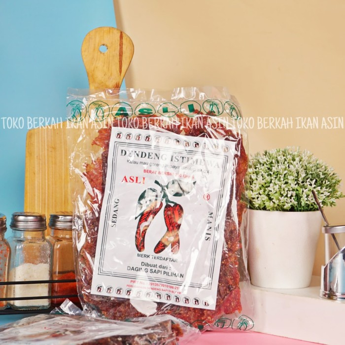Foto Produk Dendeng Sapi cap Cabe istimewa dari Toko BERKAH Ikan Asin