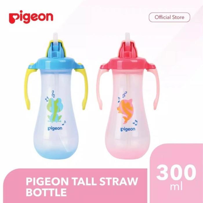 Foto Produk Pigeon Petite Straw Bottle Blue / Pink / Orange 150ml 150 ml - Biru dari Toko Bayi Terdekat Hatimu Online