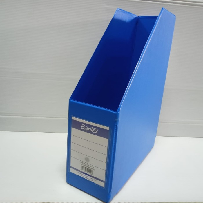 Foto Produk Box File Bantex 4011-62 (Blueberry) Folio 10 cm dari officemart