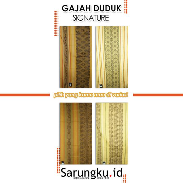 Foto Produk SARUNG GAJAH DUDUK SIGNATURE - Cover dari SarungkuID