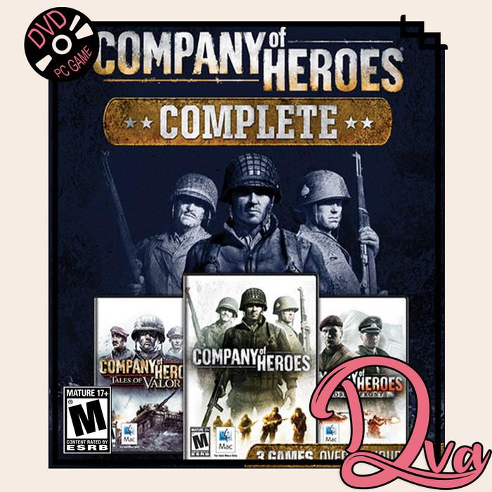 Jual Company Of Heroes Complete Edition Pc Game Cd Dvd Game Pc Usb Dvd Kota Surabaya D Va Tokopedia