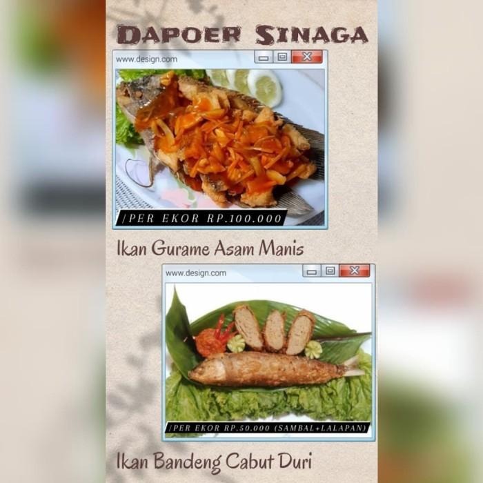 Jual Ikan Gurame Asam Manis 1 Ekor Jakarta Timur Unik Jakarta Tokopedia