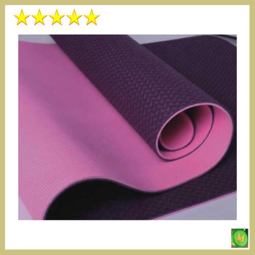 Jual Langka Matras Senam Yoga Mat Yoga Tpe 6 Mm Denlus Ungu Pink Kota Surabaya Ajipradiptawilan Tokopedia
