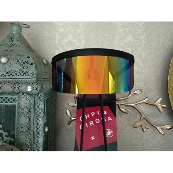 Foto Produk Face Shield Visor Sunglasses Tutup Muka Face Cover warna rainbow dari The Pain Hunters