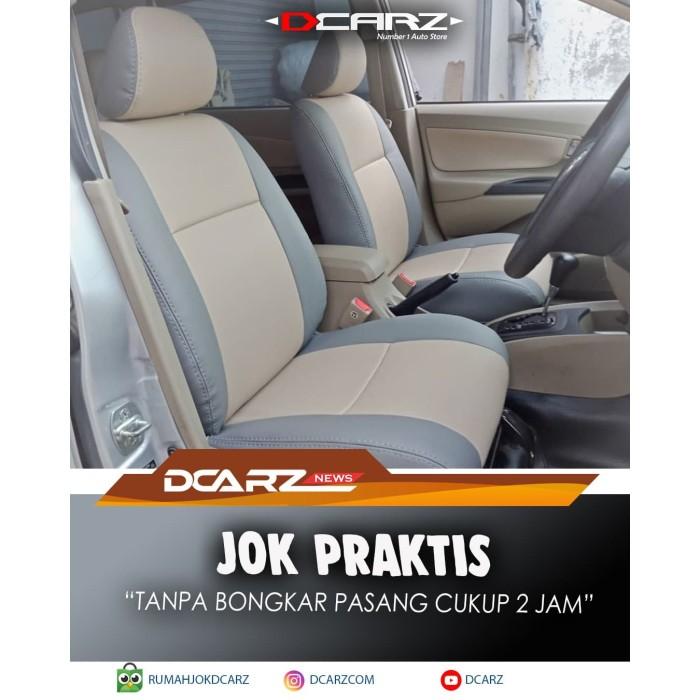 Foto Produk SARUNG JOK PRAKTIS MOBIL FORTUNER - BAHAN KULIT APFORCE dari RUMAH JOK DCARZ