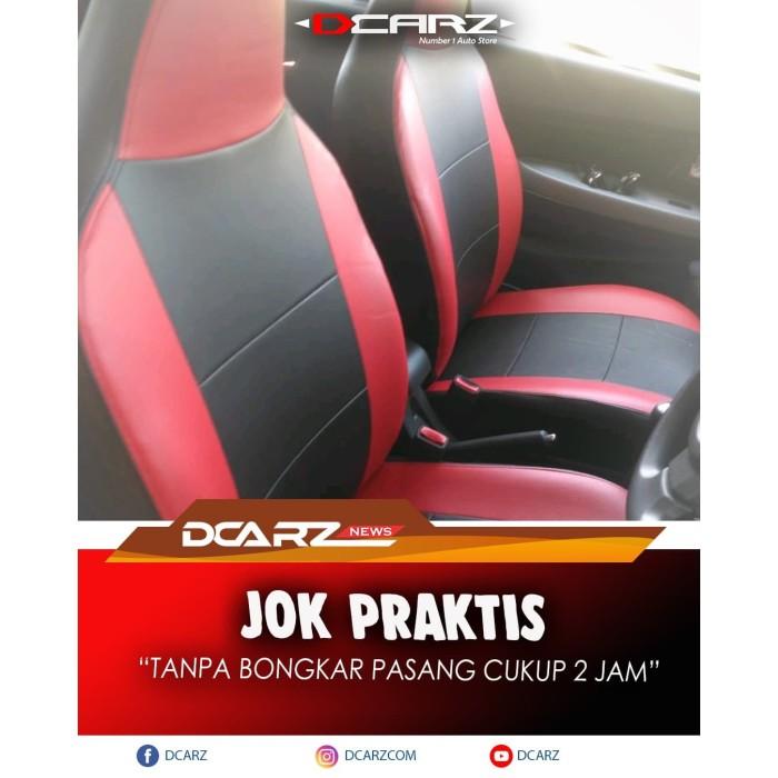 Foto Produk SARUNG JOK PRAKTIS MOBIL CALYA - BAHAN KULIT APFORCE dari RUMAH JOK DCARZ