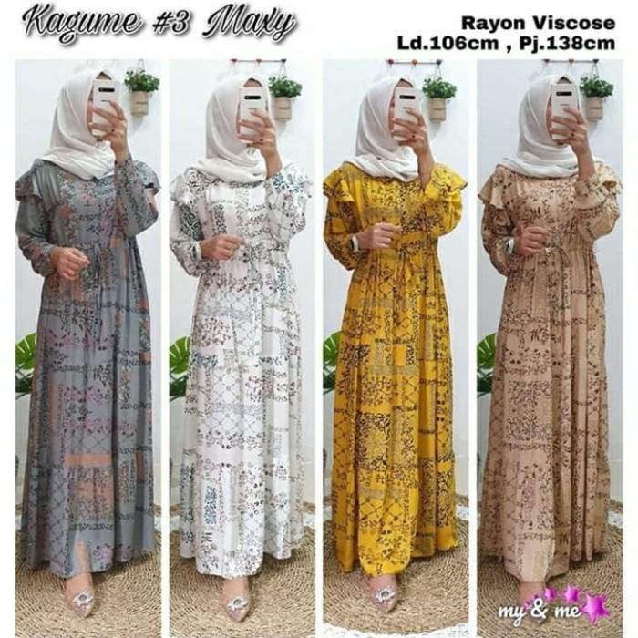 Jual Maxi Dress Rayon Viscose Motif Cantik Gamis Muslim Rayon Nyaman Dipake Kota Surakarta Rakki Collections Tokopedia
