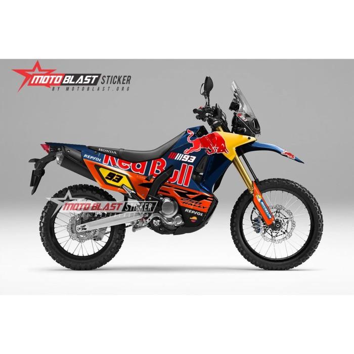 Foto Produk Decal stiker Honda CRF250Rally redbull fullbody motoblast dari LAPAK MOTOBLAST
