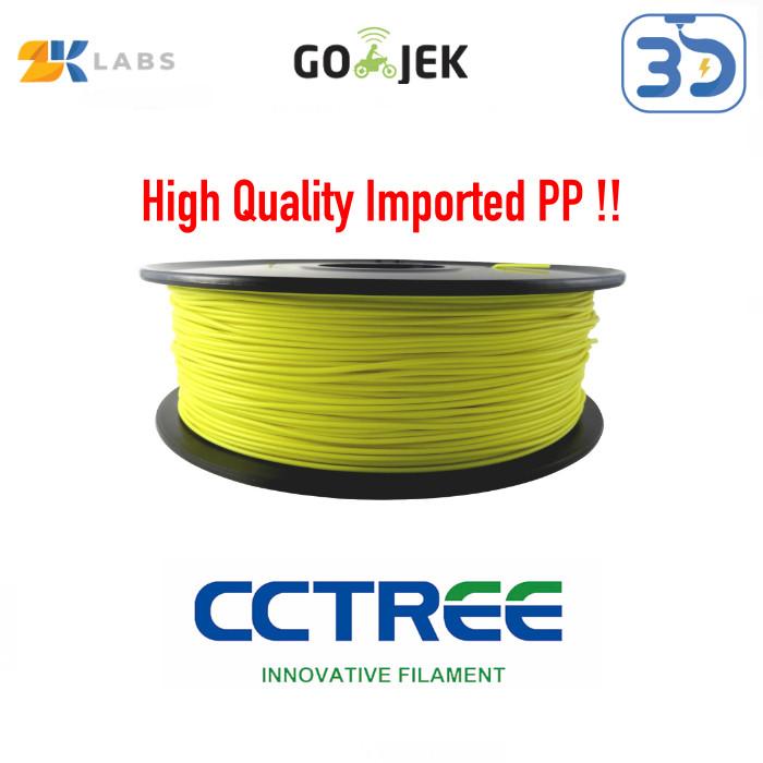 Foto Produk CCTree X ZKLabs 3D Filament PP Polyproylene Bahan Import dari USA dari 3D Zaiku