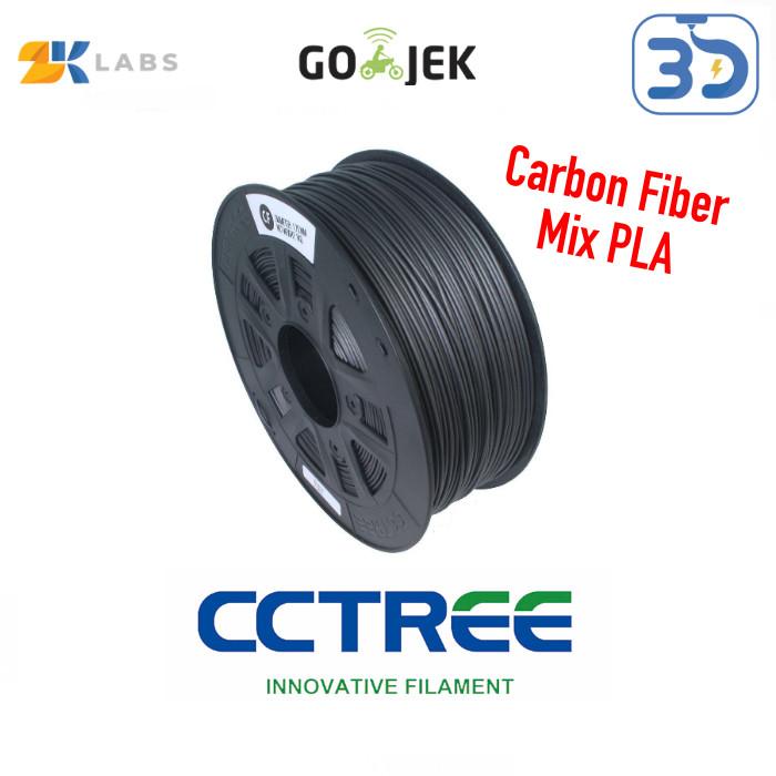 Foto Produk CCTree X ZKLabs 3D Filament Carbon Fiber Bahan Import dari USA dari 3D Zaiku