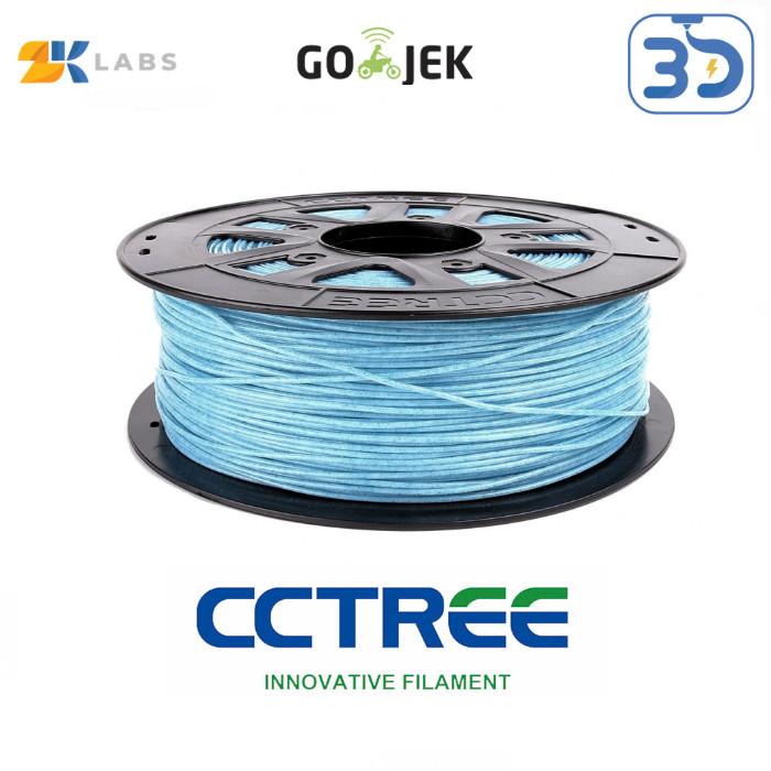 Foto Produk CCTree X ZKLabs 3D Filament PLA Glitter Twinkle Bahan Import dari USA dari 3D Zaiku
