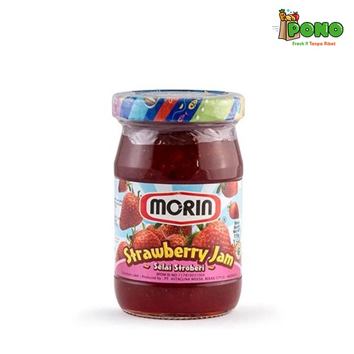 Foto Produk Morin Strawberry 170gr dari Pono Area Solo