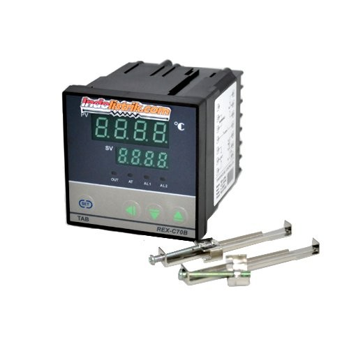 Foto Produk Temperature Controller REX C70B TAB Temperatur Control MURAH Limited dari ravina59 store