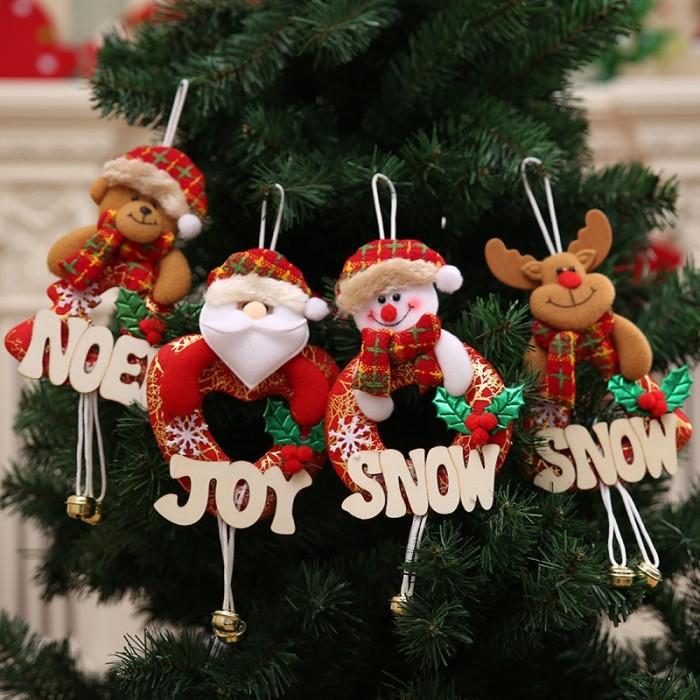 Jual Christmas Decoration Jingle Bells Santa Door Wall Letter Bell Jakarta Barat Joya Solutions Tokopedia