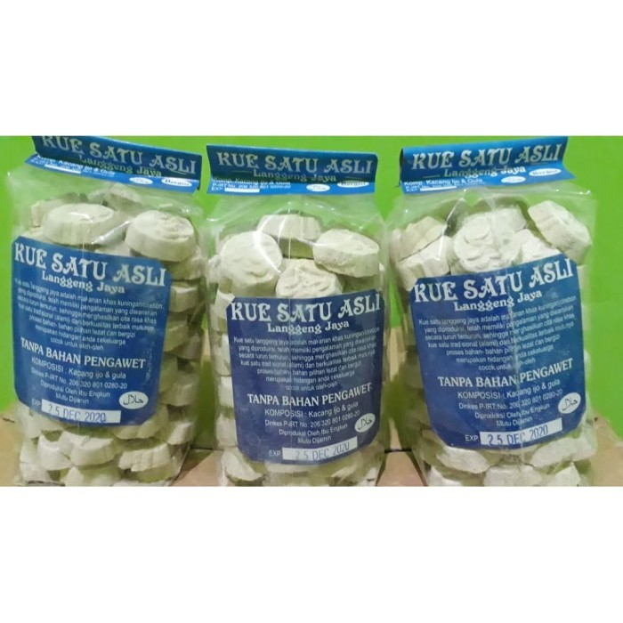 Foto Produk Kue Satu Kacang Hijau Langgeng Jaya 500gr dari Sumber Berkah Boga