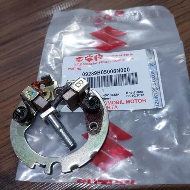 Foto Produk Arang Cool Stater Starter Brush Assy Rumah Suzuki Satria FU 150 Karbu dari Labbaca