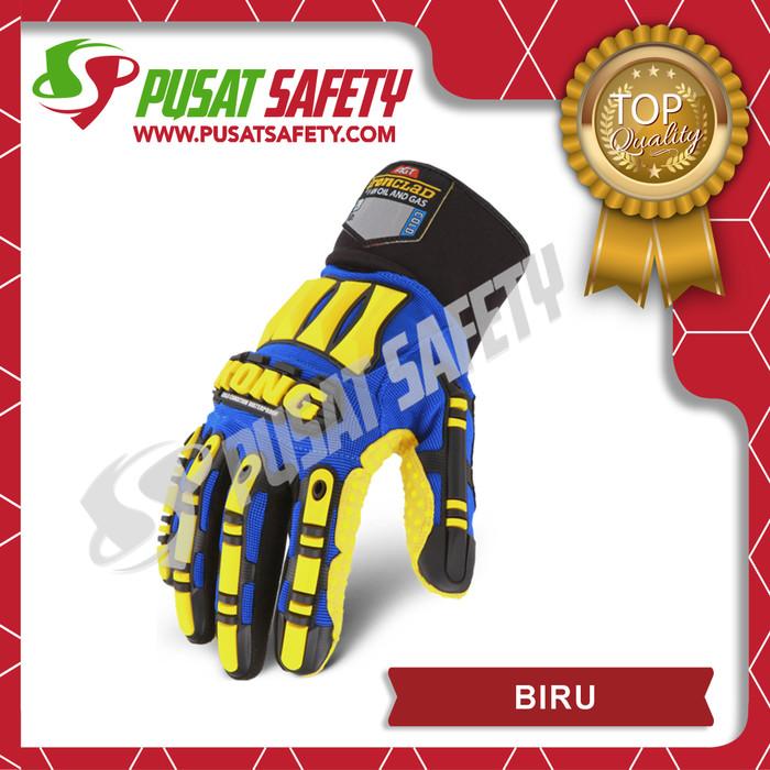 Foto Produk Sarung Tangan Safety KONG - Biru, S dari Pusat Safety Online