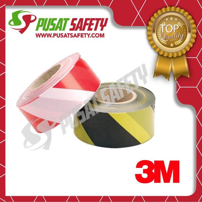 Foto Produk Sticker Safety Reflective Police Line 3M - Merah Putih dari Pusat Safety Online