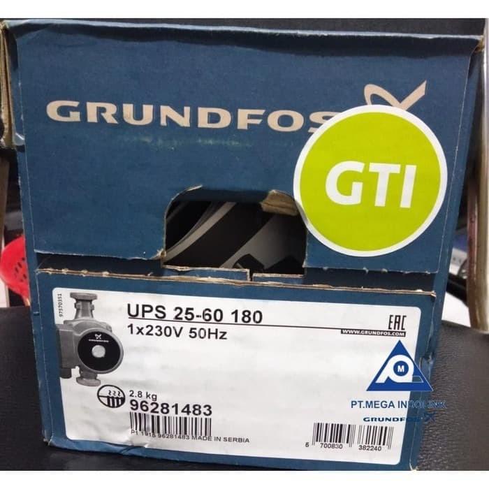 Foto Produk Pompa Grundfos UPS 25-60 180 dari Mega-Indolink