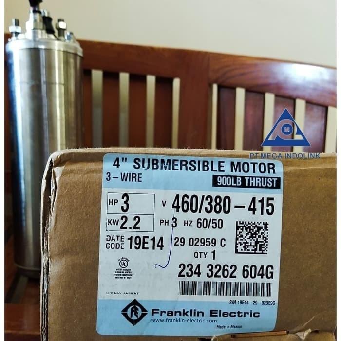 Foto Produk Motor Submersible Franklin 3PK 380V dari Mega-Indolink