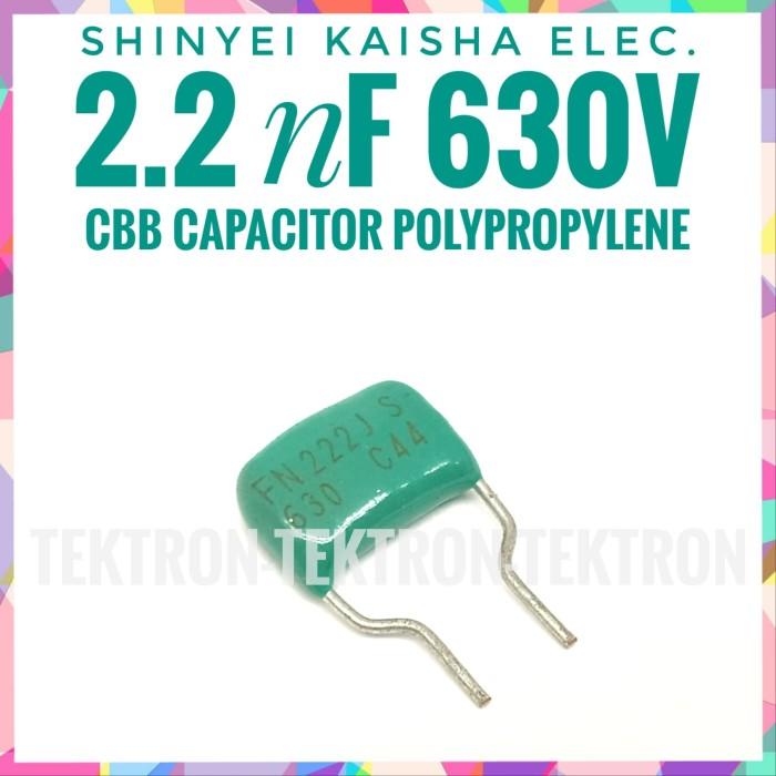 Jual Shinyei Kaisha Elec 2 2nf 630v Polypropylene Cbb Capacitor Audio 222 Kota Bandung Tektron Tokopedia