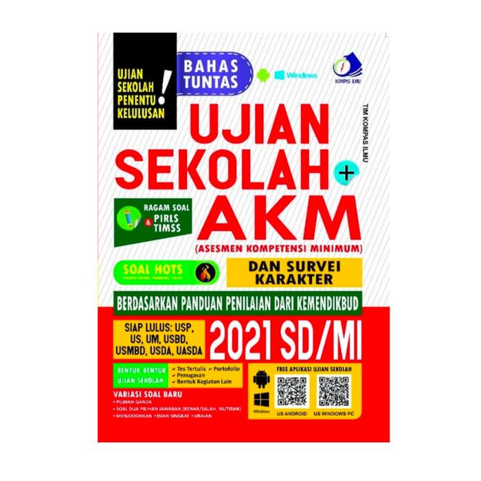 Jual Buku Ujian Sekolah Sd Mi 2021 Akm Asesmen Kompetensi Minimum Kab Tangerang Mat Store Tokopedia